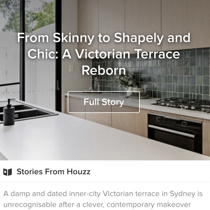 Houzz | Project of the Week: From Skinny to Shapely and Chic: A Victorian Terrace Reborn
