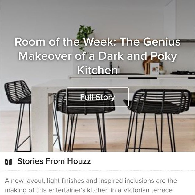 Houzz | Room of the Week: The Genius Makeover of a Dark and Poky Kitchen