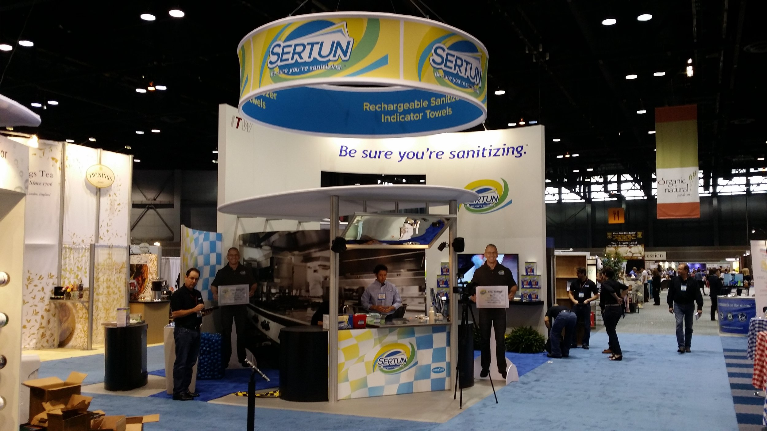 Sertun Trade Show Exhibit
