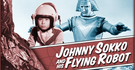 Did you miss the obscure cultural reference? Were you among the poor schlubs stuck in the Saved By the Bell Generation? Have no fear, click on the image above for a small taste of the splendor was Johnny Sokko and His Flying Robot.