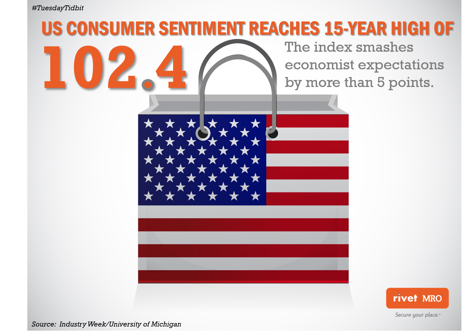 May 2019 Consumer Sentiment Tuesday Tidbit by Rivet MRO Industrial Distributor Marketing Agency and Co-op Marketing Consultant.png