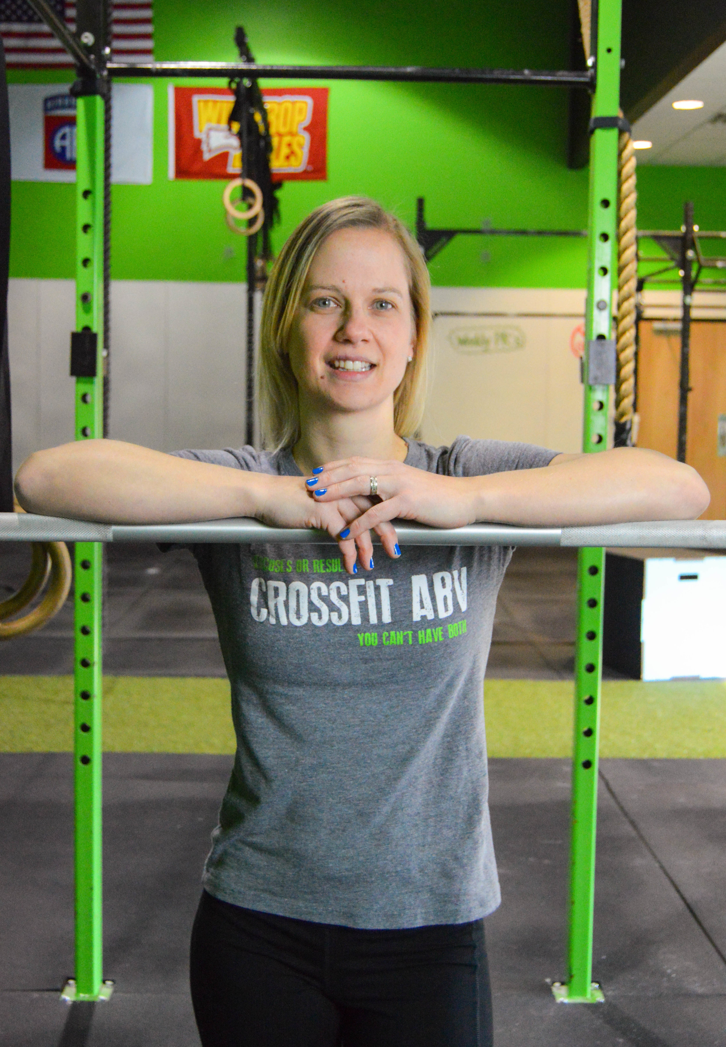 THERESA GEBHARDT   CrossFit Level 1 CrossFit Level 2 CrossFit Kids CrossFit Gymnastics CrossFit Sports Specific