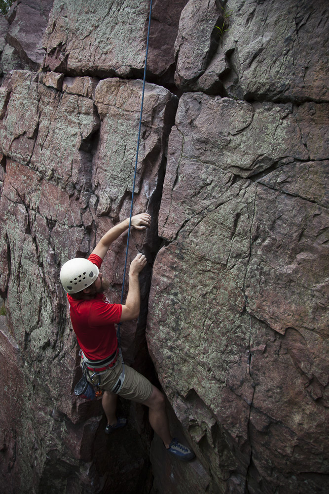 Gavin at the crux of False Perspective (5.6)