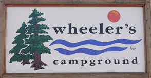 Wheeler's Campground, on Hwy. 159 north of Devil's Lake
