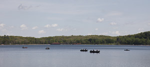 Fishing boats near the South Shore