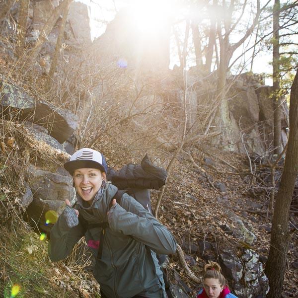 Abby from  Active Endeavors  in Iowa. Photo: Sharon Vanorny