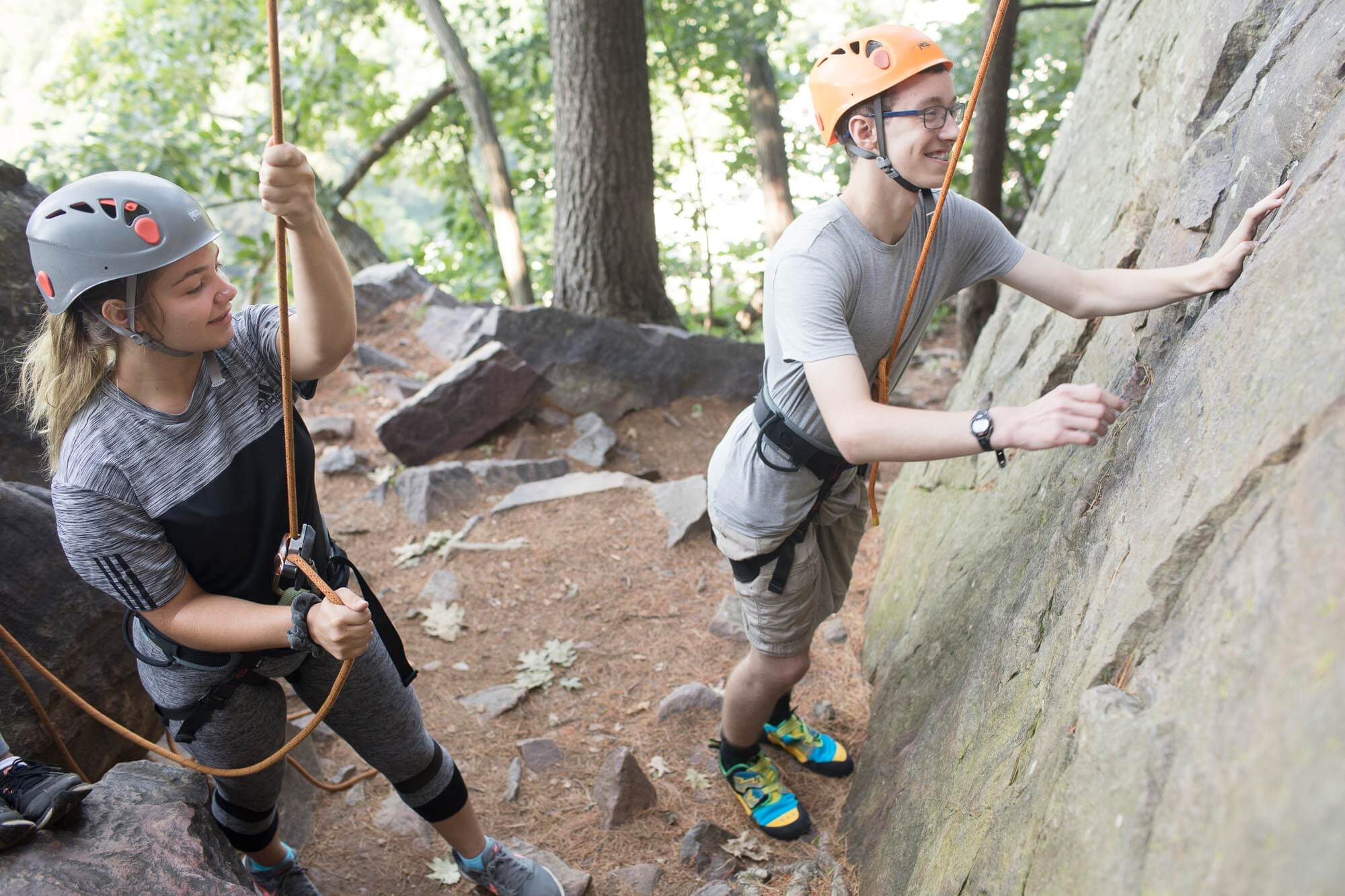 sale retailer c755f 84aaa Overnight Rock Climbing Camp for Teens at Devil's Lake State ...