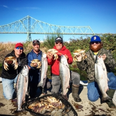 Buoy 10     August - September   Astoria, Oregon  -  Chinook and Coho Salmon