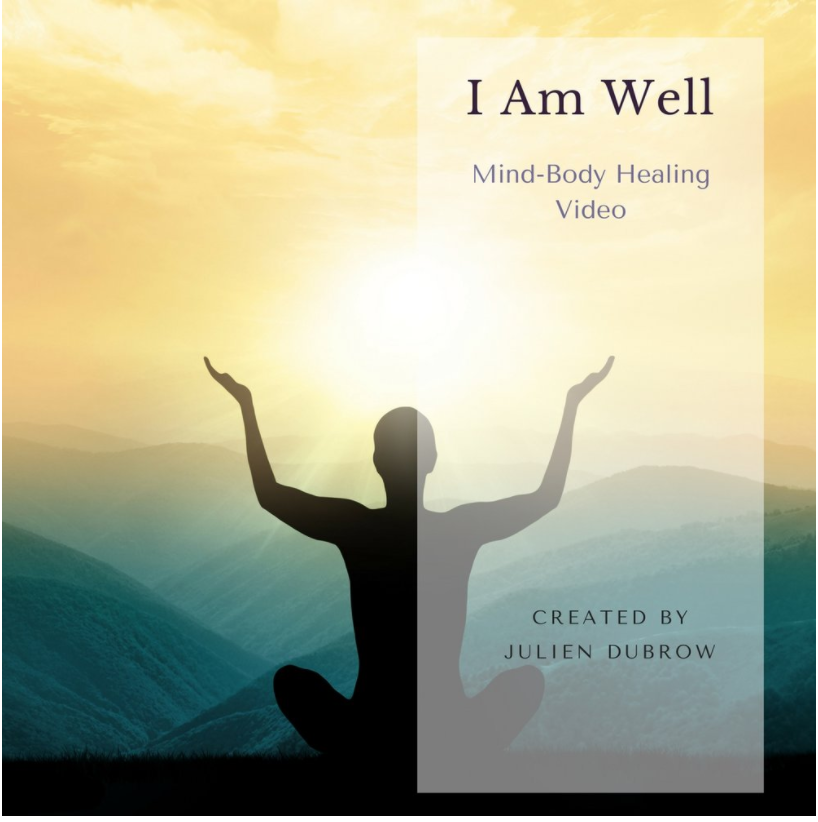 I Am Well - In this (free) video Julien presents a visual Sacred Medicine practice to ignite your own, innate ability to heal. Just by watching, the mind relaxes, and follows along, directing your body to heal. This is a visual meditation to soothe, comfort, and engage in healing.