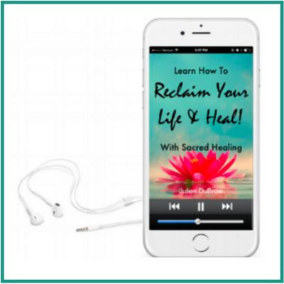 Reclaim Your Life and Heal - In this beautiful (and free) audio, Julien offers practical guidance from the Sacred Healing paradigm, on how to reclaim your life from illness and get well. You'll learn the fundamental strategies that will give you the courage and clarity to reclaim control of your life and move forward in your healing.