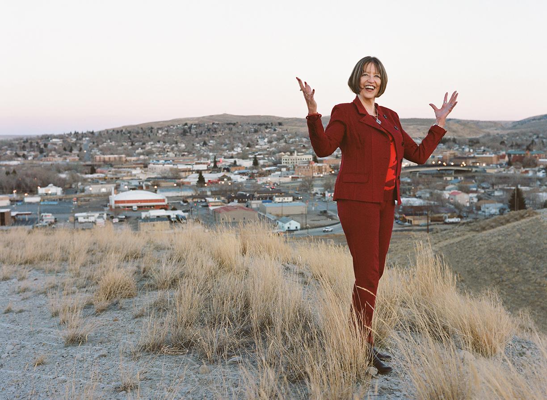 Former Wyoming representative, Episcopal priest and community steward, Bernadine Craft.