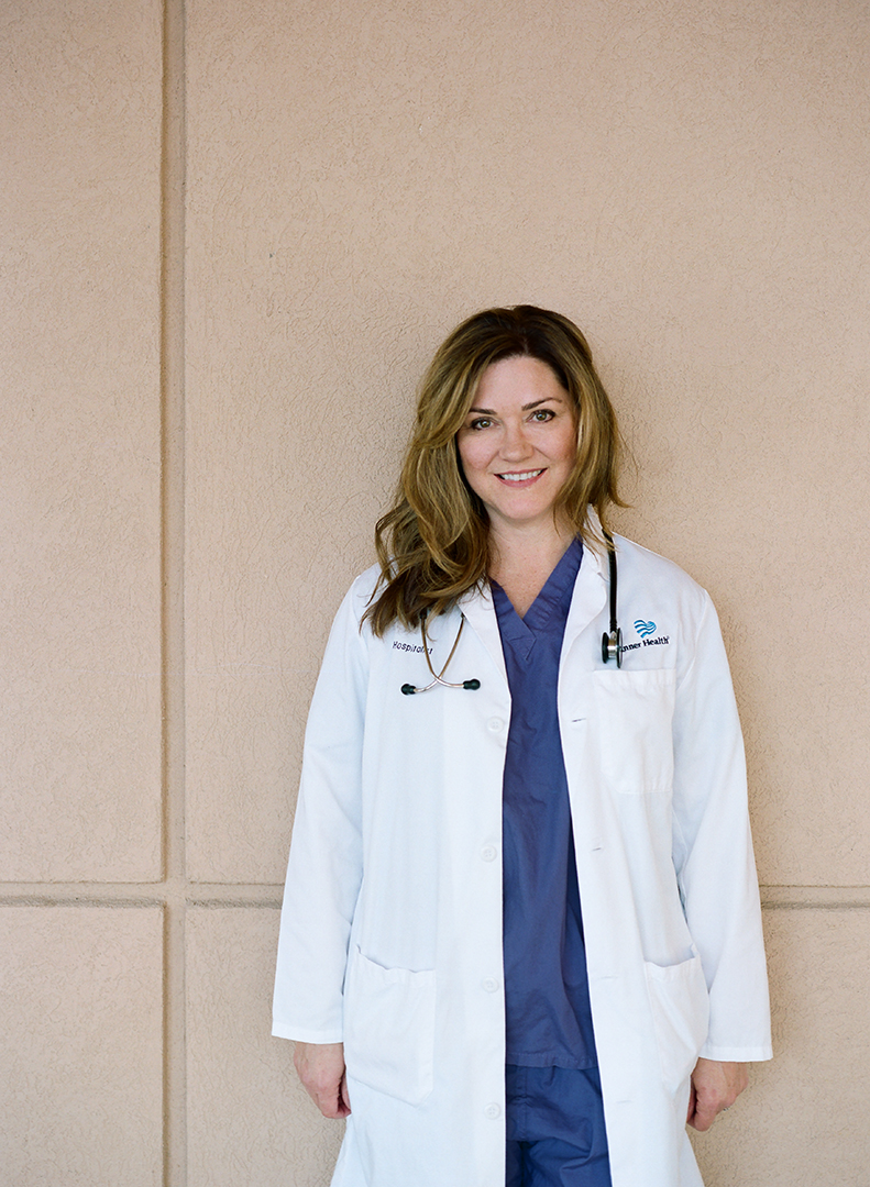 Dr. Diane found balance working in emergency room medicine, which involves long, intense hours and a structured time frame.