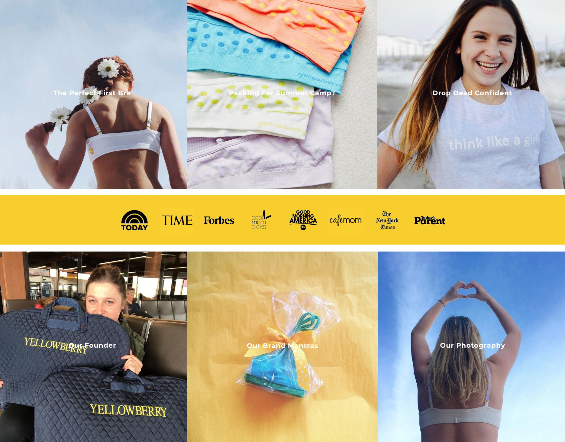 Yellowberry's mission is to be the brand that girls grow up with, and support young girls to own their ambition and ideas.