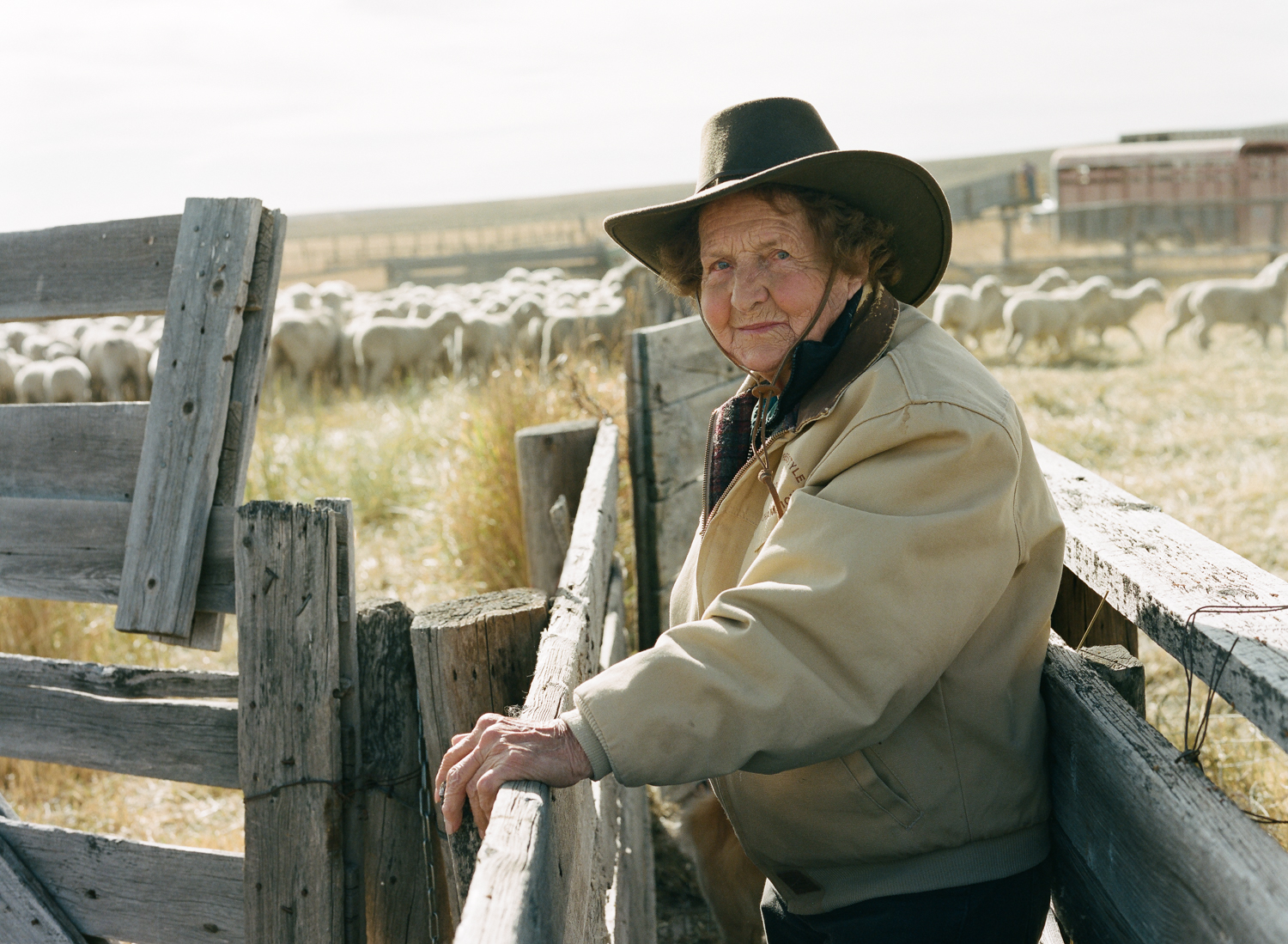 Mickey Thoman is a cowgirl, mentor and genuine leader. At 89 years old, she operates the W&M Thoman ranch with her three daughters. Together, the Thoman women run a sheep and cattle operation, as well as raise thoroughbred-quarter horses in Sweetwater County, Wyoming.