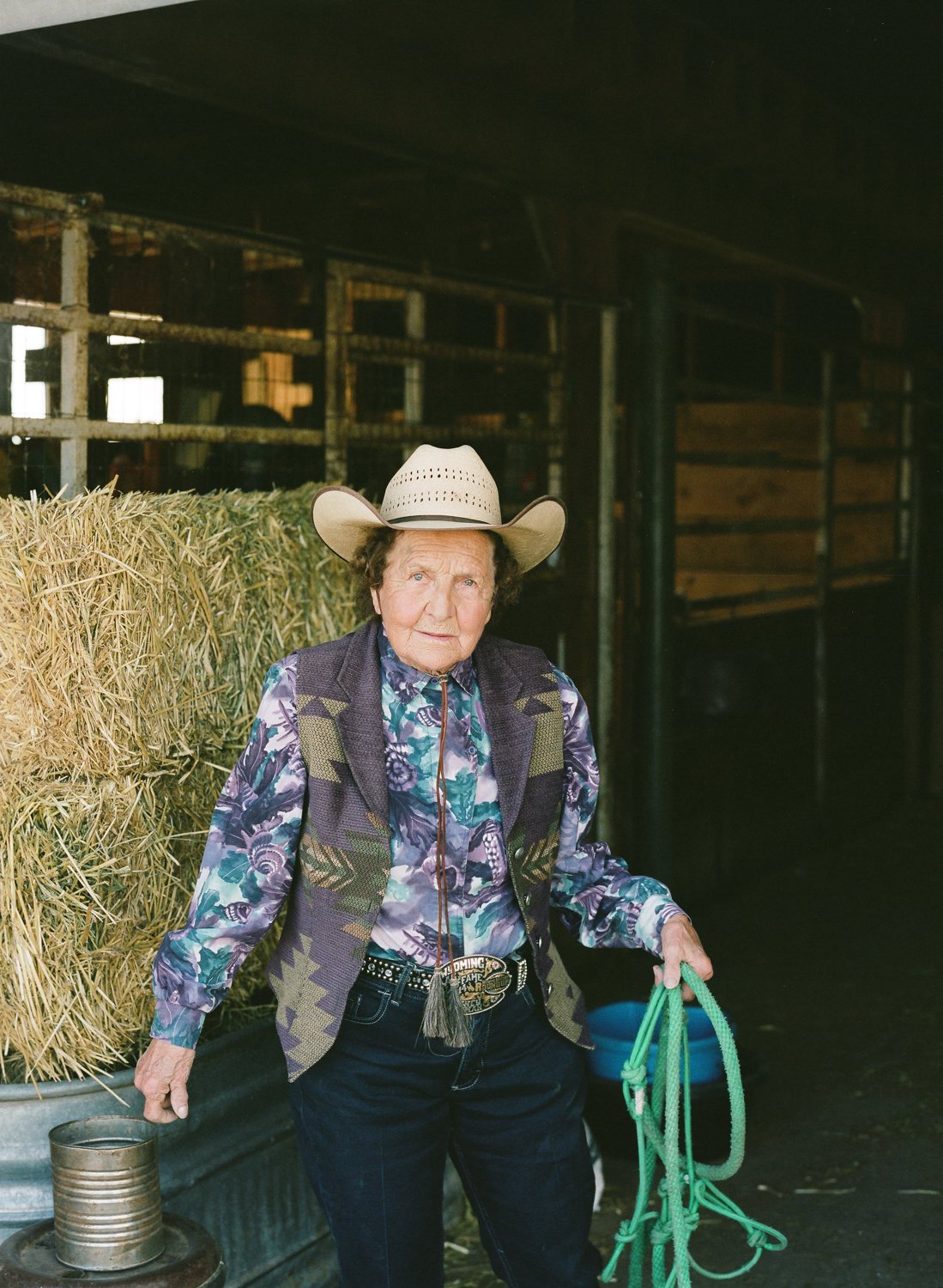 Cowgirl, mentor and matriarch of the Thoman ranch in Sweetwater county, Mickey Thoman epitomizes true western grit and spirit.