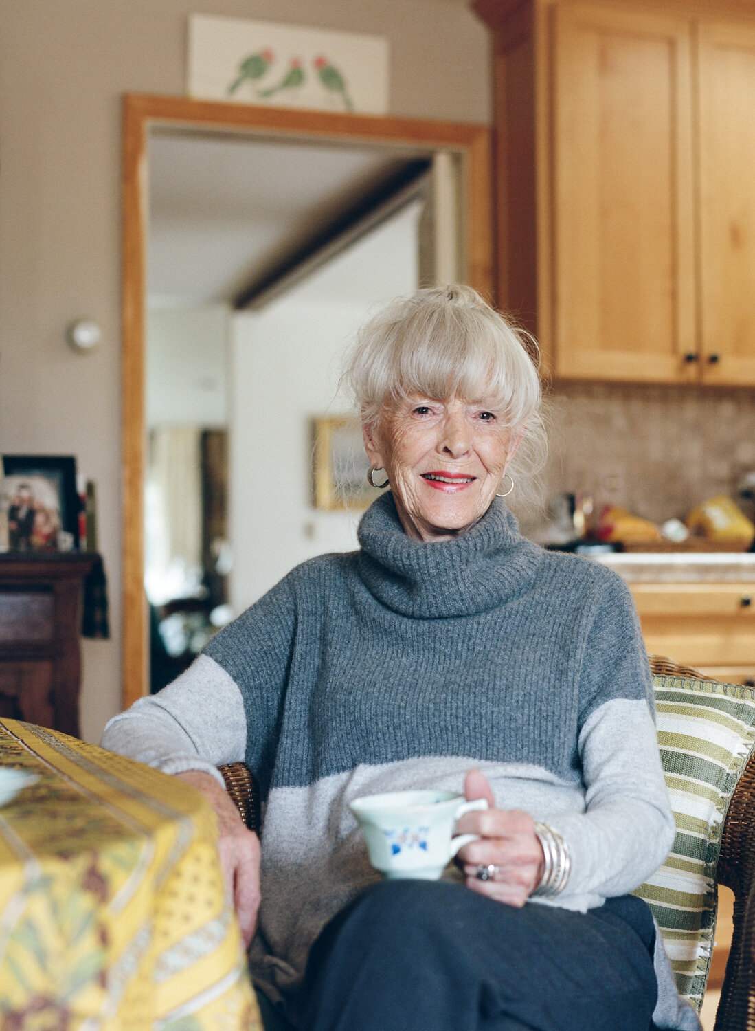 Ann Simpson, at home in Cody, Wyoming