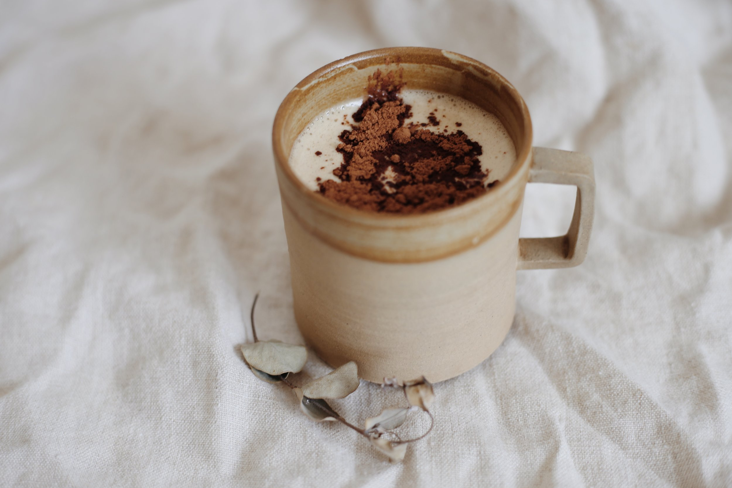 - This caffeine free creamy chai is the perfect cup of comfort. I chose dandelion chai mix for the liver supportive and gallbladder nourishing properties. It's dairy free, sugar free, gluten free, vegan & keto approved