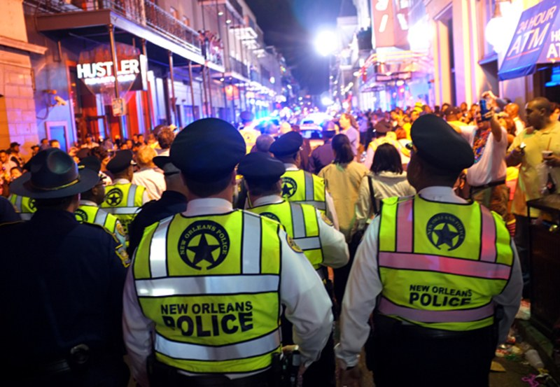 """From Beads to the Big House: Scenes From a Mardi Gras Ride-Along"" -  GQ"