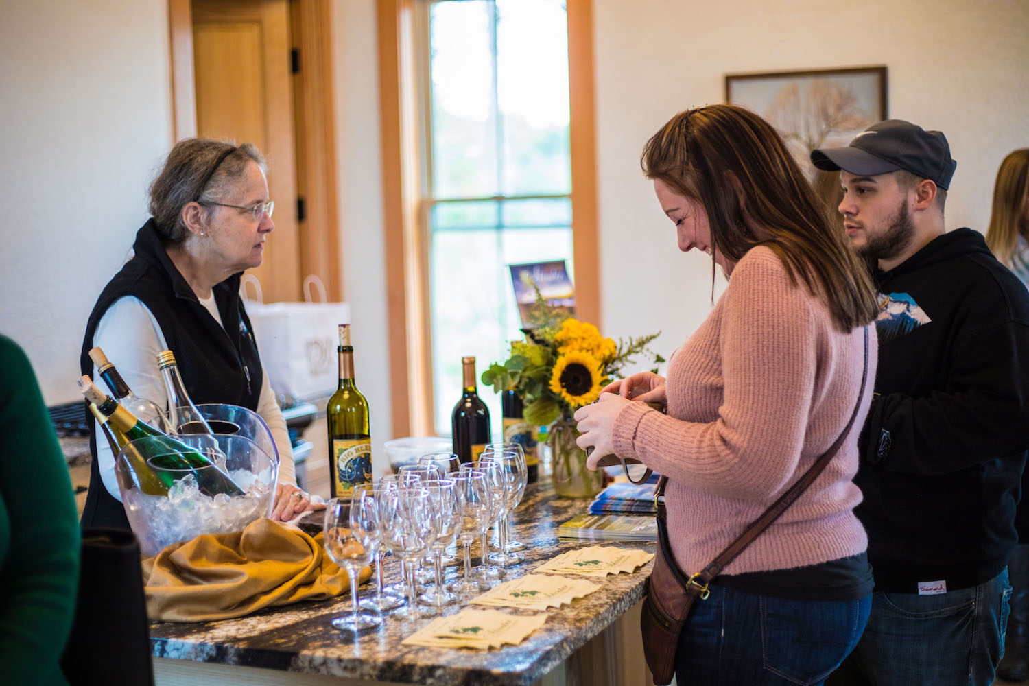 Atwater Vineyards was our featured wine at La Bourgade On Seneca's Grand Opening.