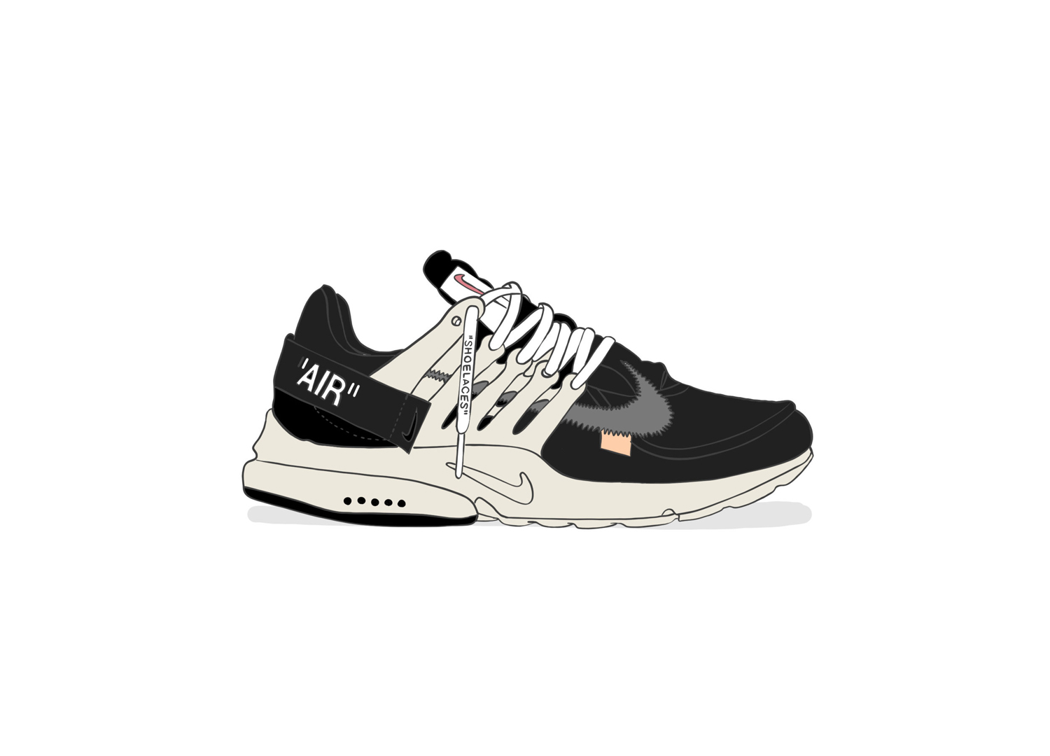 off white shoes wallpaper