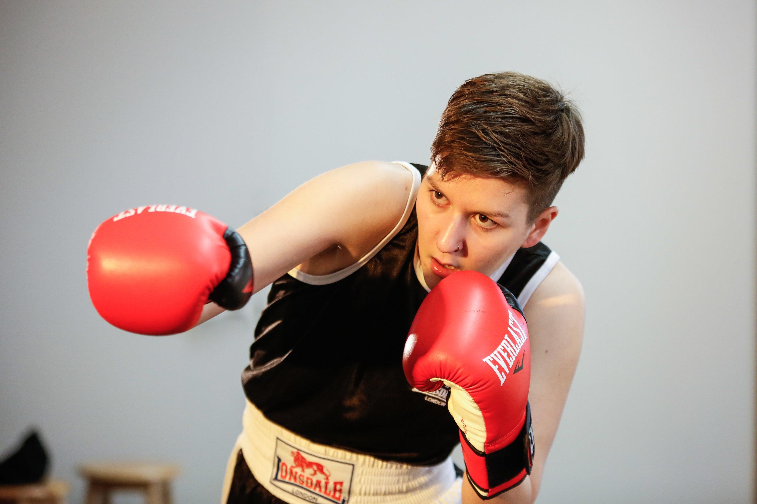 Bitch Boxer - written by Charlotte Josephine