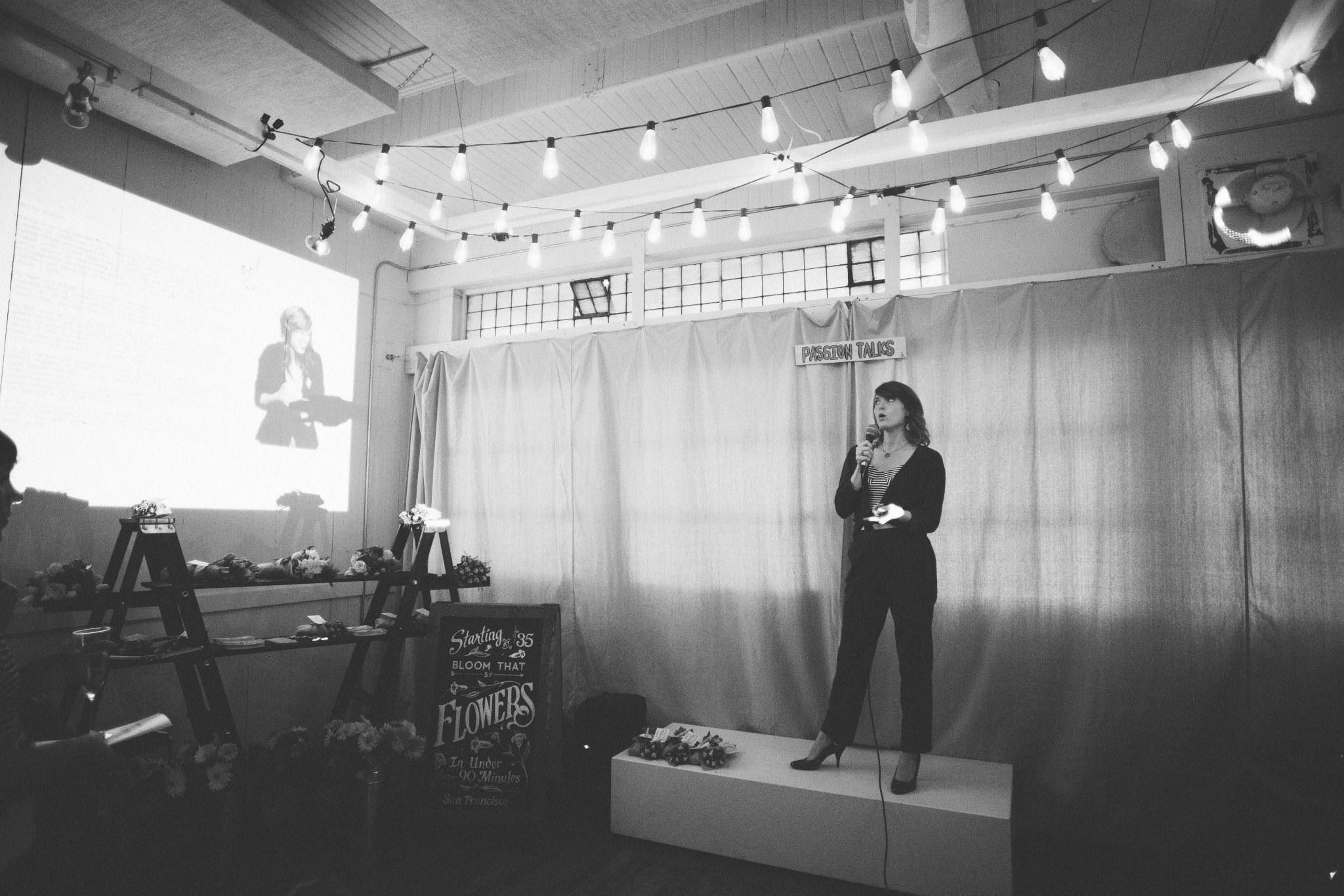 Presentation at The Passion Co, San Francisco