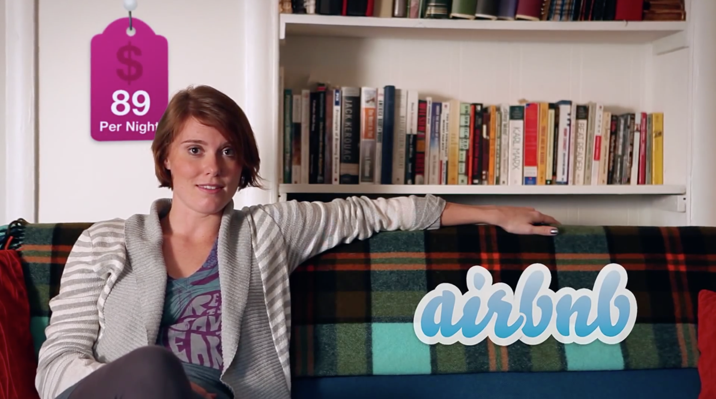 I was a creative director & spokesperson for Airbnb. -