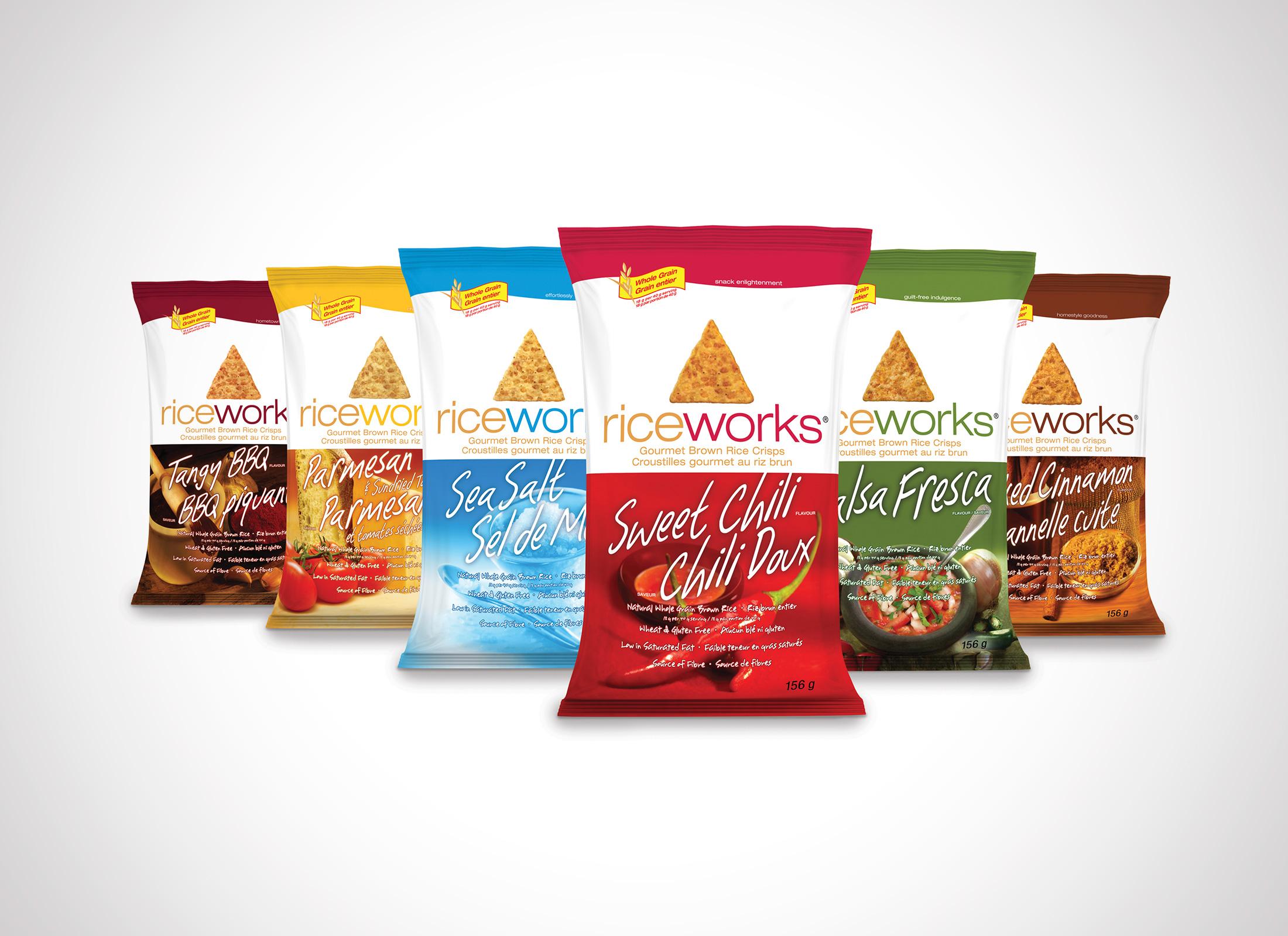 Dana Lu graphic design riceworks packaging design