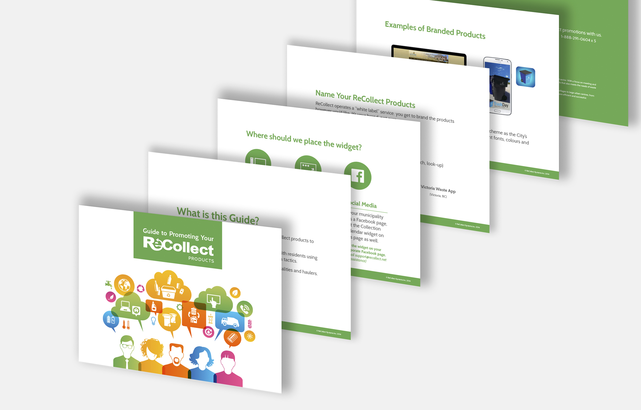 ReCollect edocument design