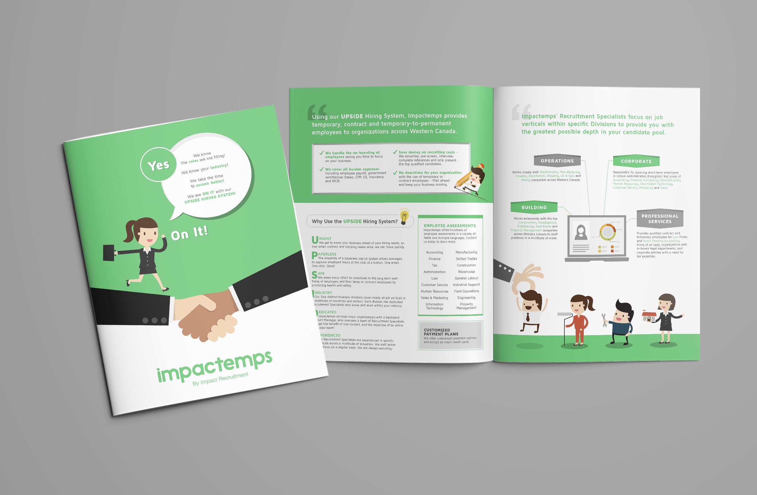 ImpactTemps brochure design