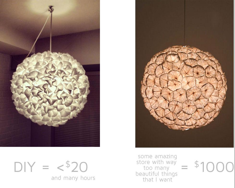cheap diy anthropologie lamp