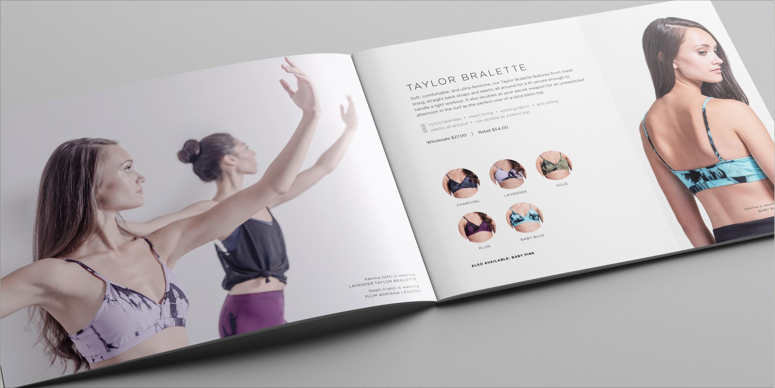Daub+Design look book design detail