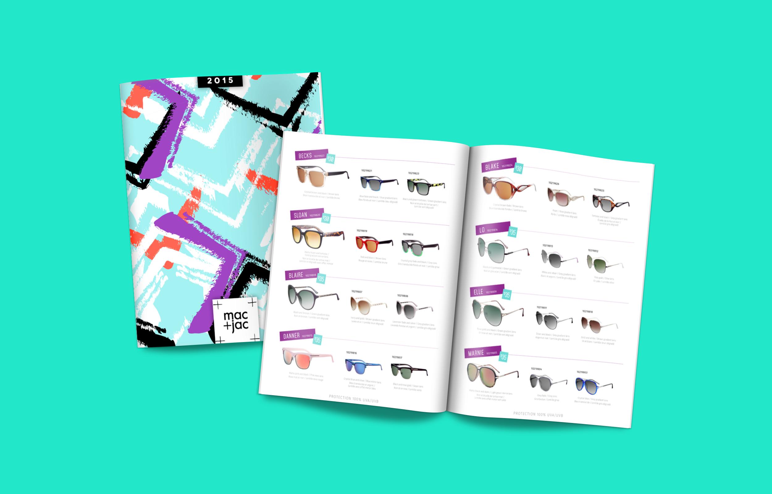 mac+jac linelist/catalogue design