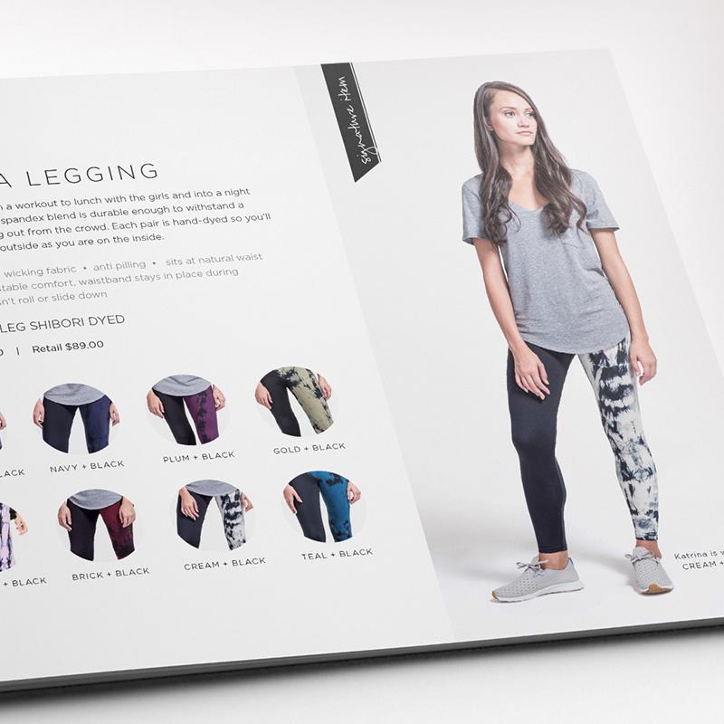 Dana Lu graphic design lookbook design daub+design