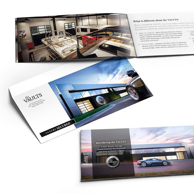 Client work // The VAULTS // Mailer brochure & envelope #danaludesign #thevaults ⠀⠀⠀⠀⠀⠀⠀⠀⠀⠀⠀⠀ ⠀⠀⠀⠀⠀⠀⠀⠀⠀⠀⠀⠀ ⠀⠀⠀⠀⠀⠀⠀⠀⠀⠀⠀⠀ ⠀⠀⠀⠀⠀⠀⠀⠀⠀⠀⠀⠀ ⠀⠀⠀⠀⠀⠀⠀⠀⠀⠀⠀⠀ ⠀⠀⠀⠀⠀⠀⠀⠀⠀⠀⠀⠀ ⠀⠀⠀⠀⠀⠀⠀⠀⠀⠀⠀⠀ ⠀⠀⠀⠀⠀⠀⠀⠀⠀⠀⠀⠀ ⠀⠀⠀⠀⠀⠀⠀⠀⠀⠀⠀⠀ ⠀⠀⠀⠀⠀⠀⠀⠀⠀⠀⠀⠀ ⠀⠀⠀⠀⠀⠀⠀⠀⠀⠀⠀⠀ ⠀⠀⠀⠀⠀⠀⠀⠀⠀⠀⠀⠀ ⠀⠀⠀⠀⠀⠀⠀⠀⠀⠀⠀⠀ ⠀⠀⠀⠀⠀⠀⠀⠀⠀⠀⠀⠀ ⠀⠀⠀⠀⠀⠀⠀⠀⠀⠀⠀⠀ ⠀⠀⠀⠀⠀⠀⠀⠀⠀⠀⠀⠀ ⠀⠀⠀⠀⠀⠀⠀⠀⠀⠀⠀⠀ ⠀⠀⠀⠀⠀⠀⠀⠀⠀⠀⠀⠀ #graphicdesign #design #designer #printdesign #brochure #envelope #luxurystoragecondos #calgary #kelowna #realestate #mancave #canadian #luxuryrealestate #luxury