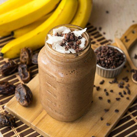 Chocolate Maca Milkshake