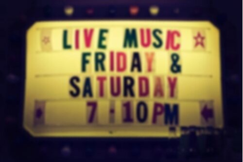 LOCAL LIVE MUSIC - Want to know where live music is happening ?Check out some of our favorites below.