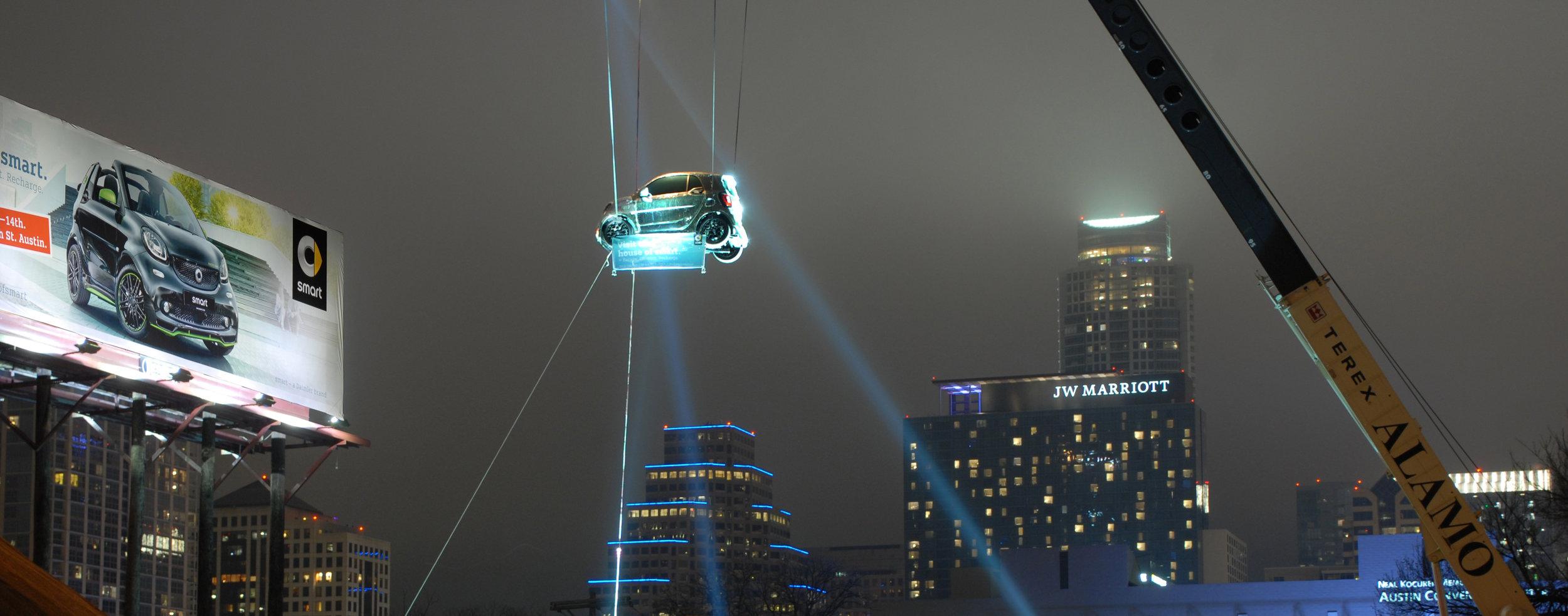 Disco ball smart = smart billboard - night fog .jpg