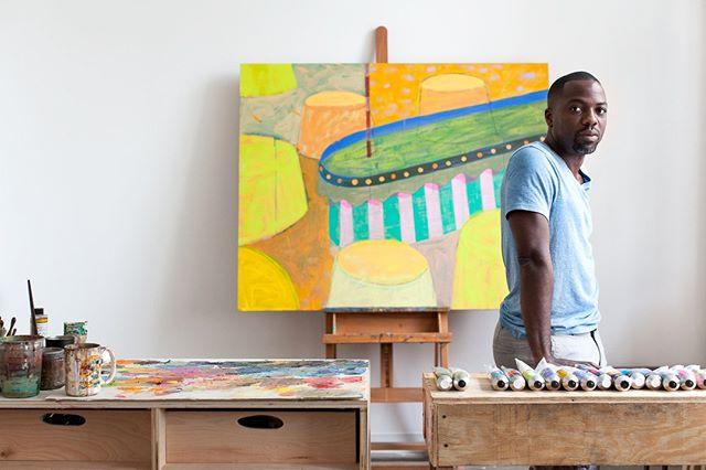Even in progress Derek Fordjour inspires. From the archives for @fordjourstudio #talismanphoto . . . . . #studiovisit #photoshoot #artoftheday #contemporaryart #fineart #instaartist #artistatwork #artistoninstagram #artislife #arteverywhere #artist #artwork #creative #artoftheday #fineart #artstudio #instaart #originalartwork #studiolife #workspace #studiovibes #artstudio #artistsstudio #painter #painting #paintings #painterlife
