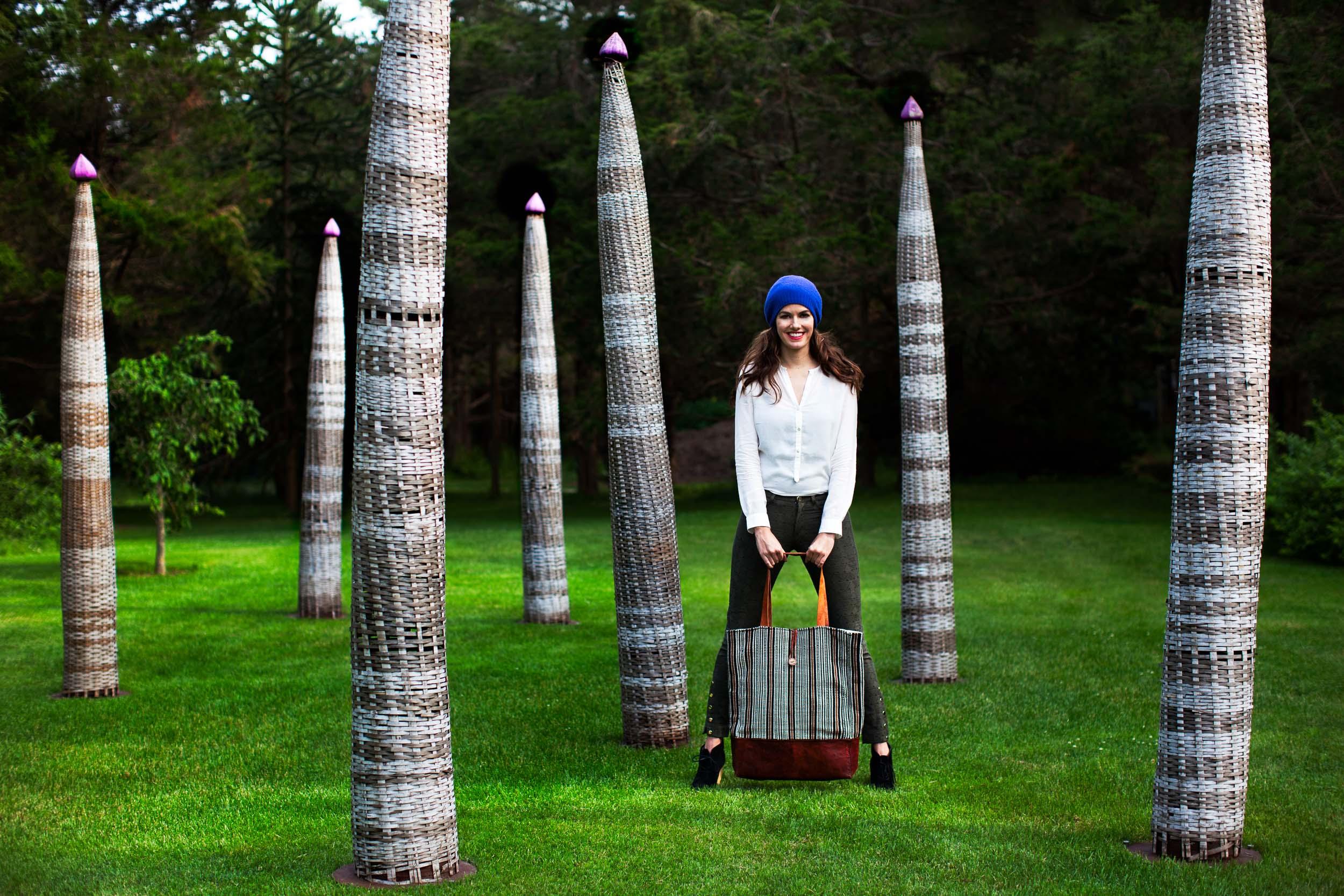 Maya Bags | Advertising Campaign shot in The Hamptons