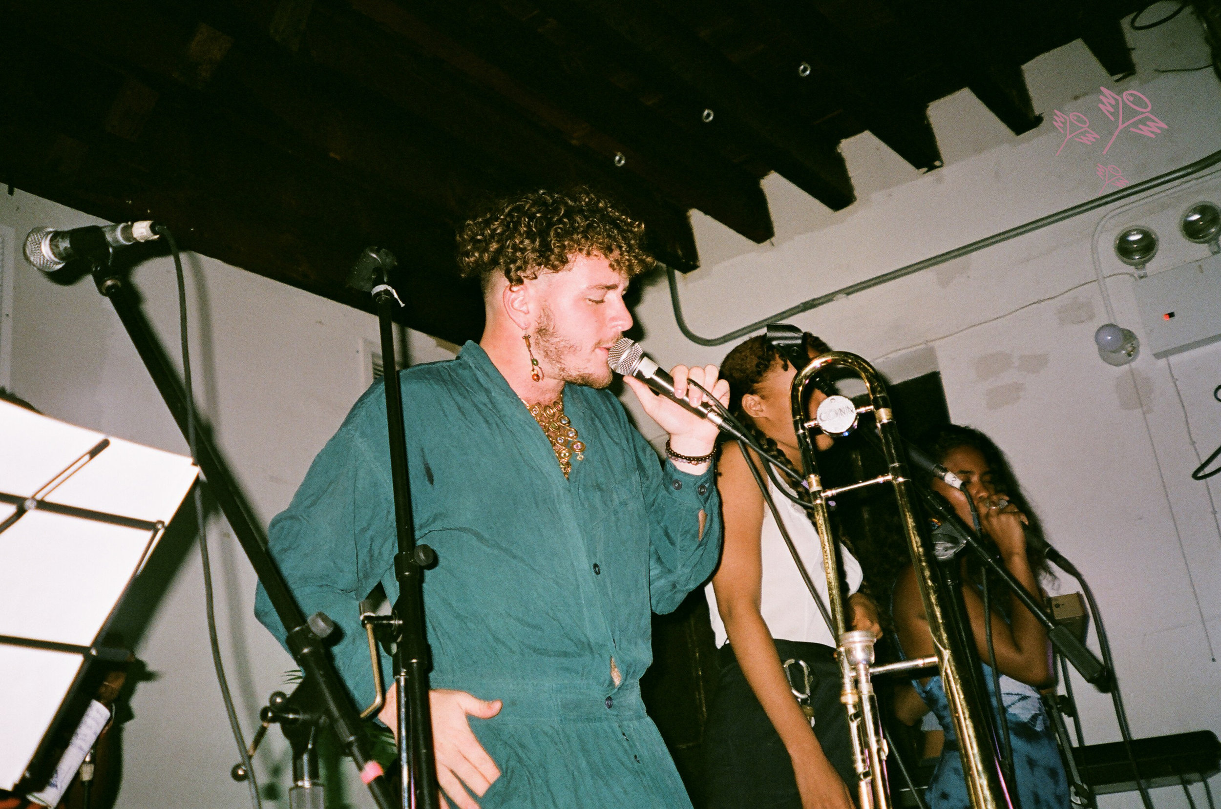 little bear performing at Trans-Pecos in July 2018. - Photos by Yohance Barton