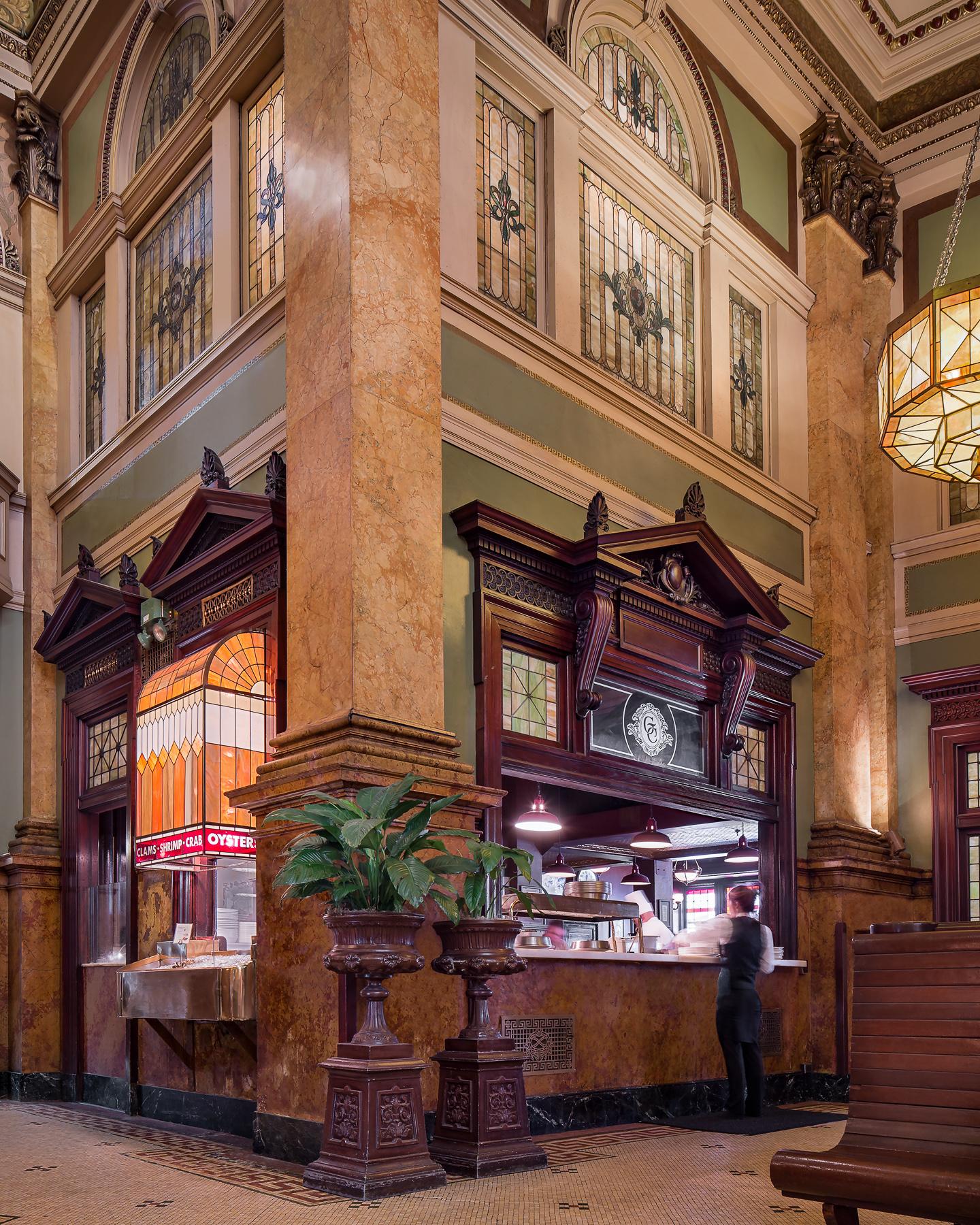 Restaurant Service Area
