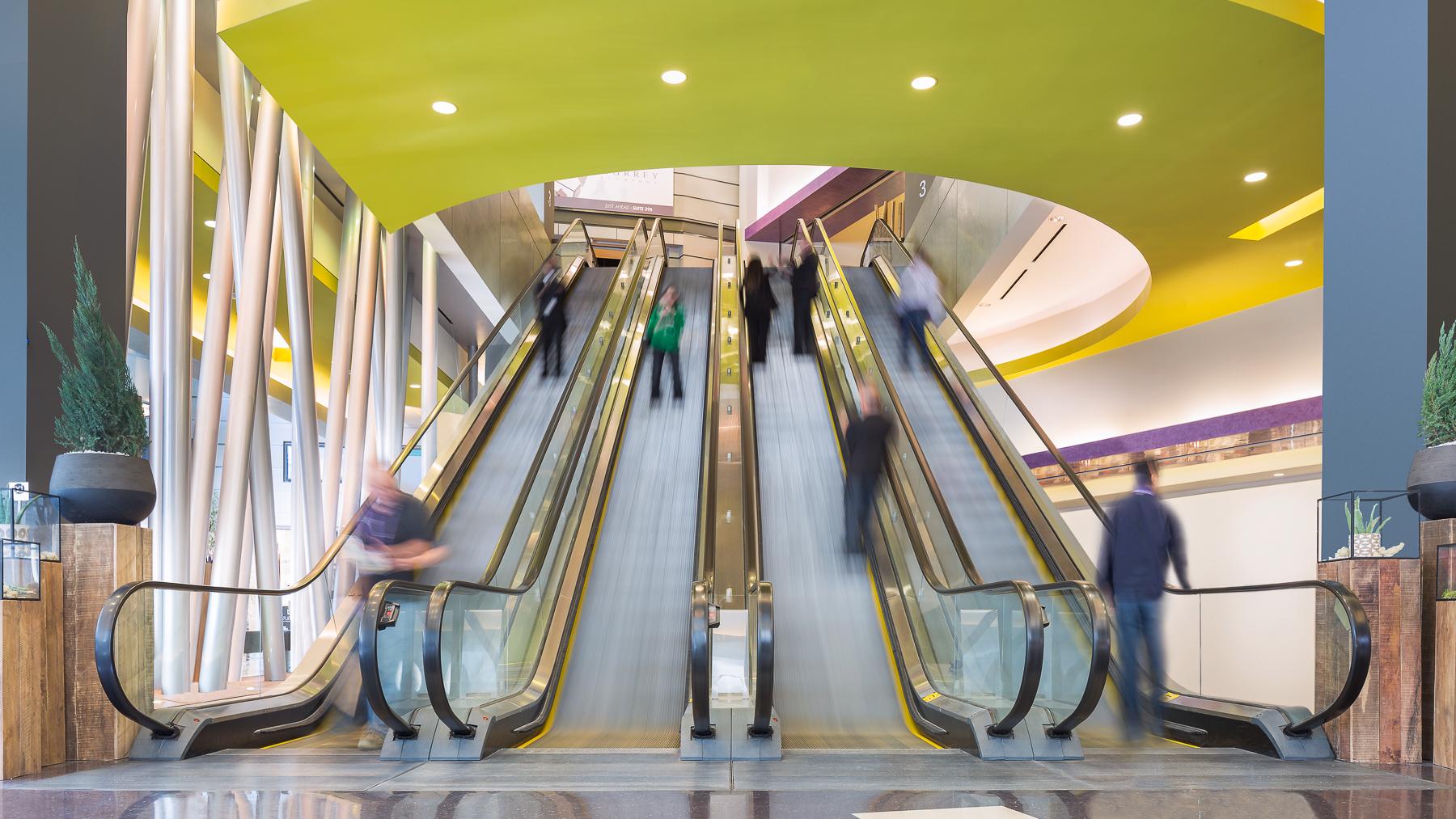 WMC Building C Escalators