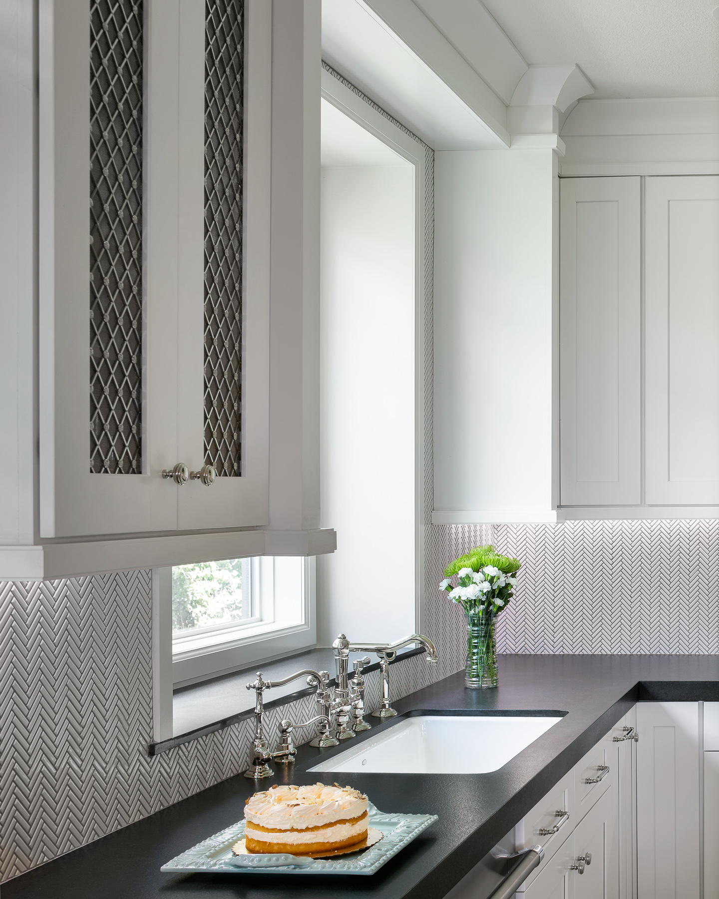 Golden Moments Kitchen Custom Cabinet
