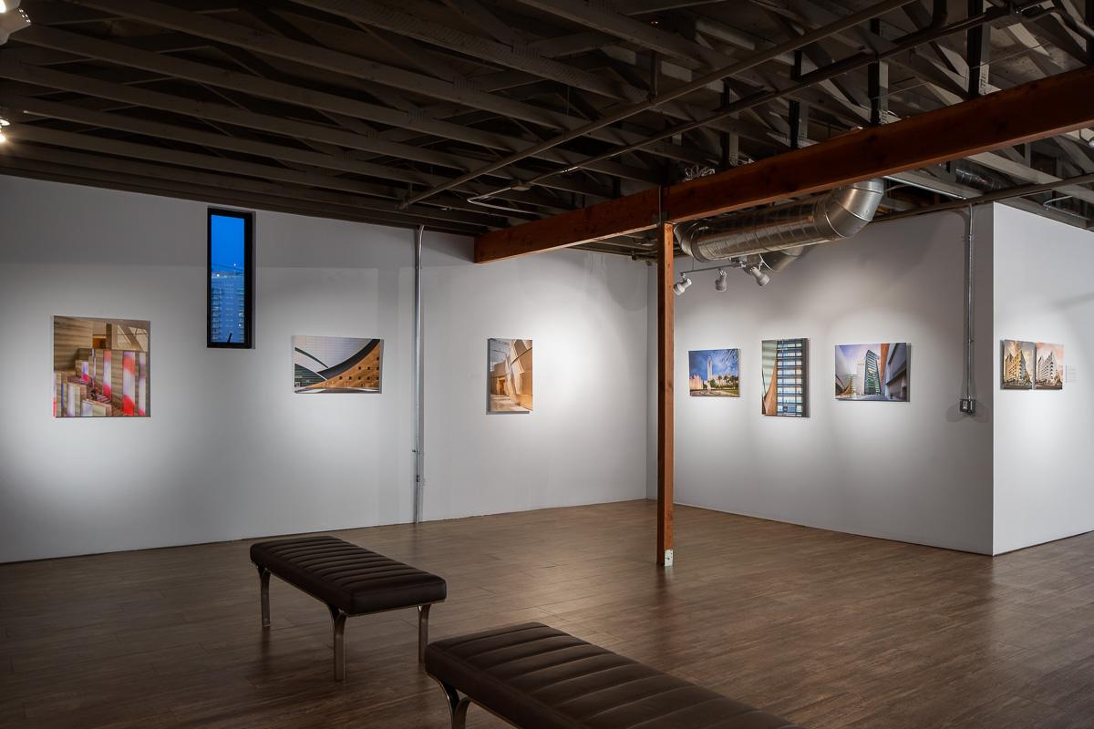 Inside the Savidan Gallery at Faciliteq on 3rd Street in Las Vegas, NV
