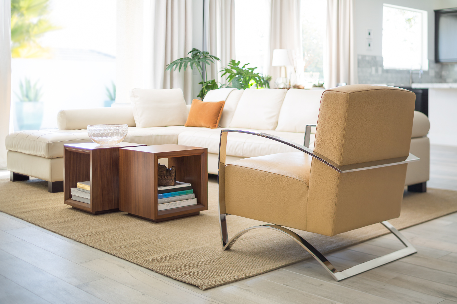 The Bent Chair in Living Room