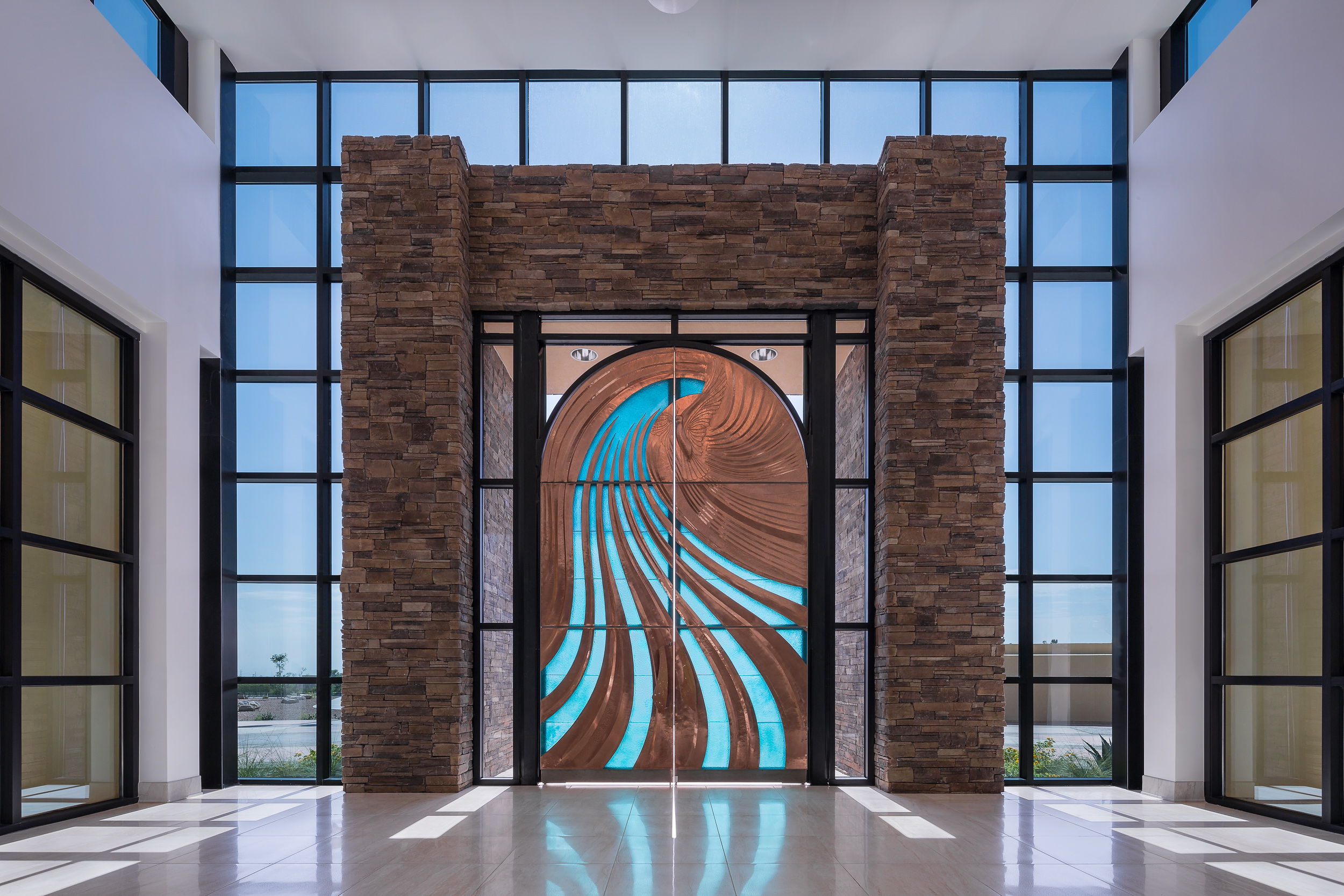 Holy Spirit Front Doors