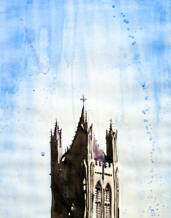 St. Mary's Cathedral Kingston | Art by Anthony Buttazzoni | www.anthonybuttazzoni.ca