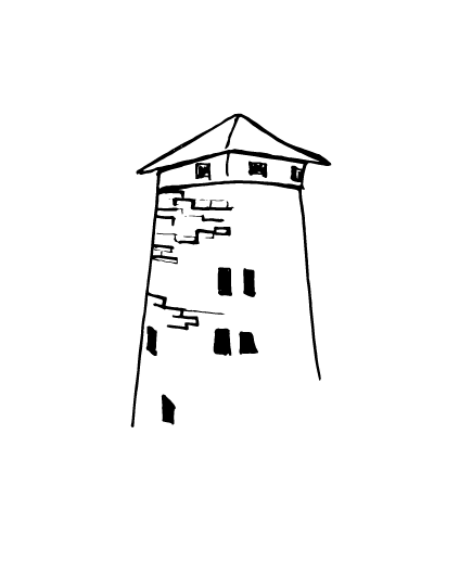 Murney Tower Kingston | Sketch by Anthony Buttazzoni | www.anthonybuttazzoni.ca