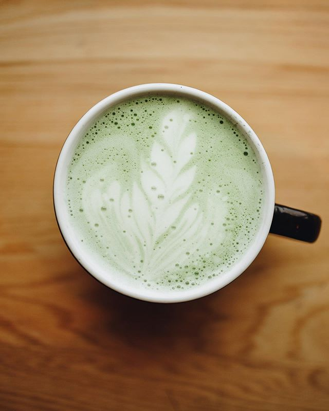 Make it a matcha latte kind of day! . . . Never tried matcha before? Stop by and ask our baristas what their favorite matcha latte is- we have some great flavors from @teasource (we have just plain matcha from them too!) that we can make hot or iced- we would love to share this tasty tea drink with you! 🍃🍃🍃 . . #xoxonitroman #matchalatte #matcha #tealife #craftcoffee #smallcoffeeshop #visitdecorah